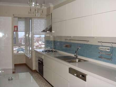 Mimark Tasarım Proje Uygulama Ltd. Şti. – Doğukent Daire: modern tarz Mutfak