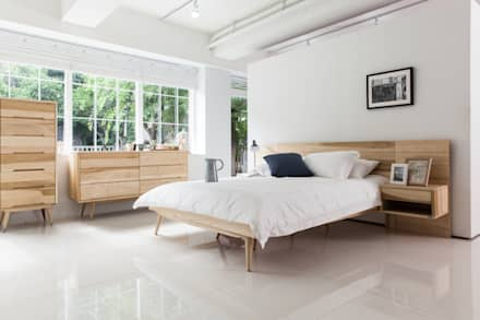 ห้องนอน by 시더스디자인그룹