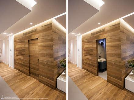 Appartamento #A76: Bagno in stile in stile Moderno di Studio DiDeA architetti associati