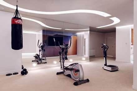 modern Gym by formativ. indywidualne projekty wnętrz