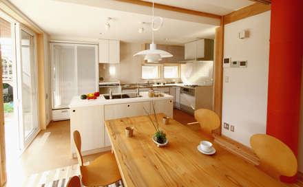 本山ドミノ: 有限会社 コアハウスが手掛けたキッチンです。