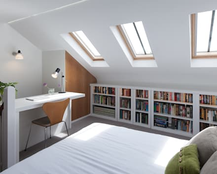 Blackheath House: modern Bedroom by APE Architecture & Design Ltd.