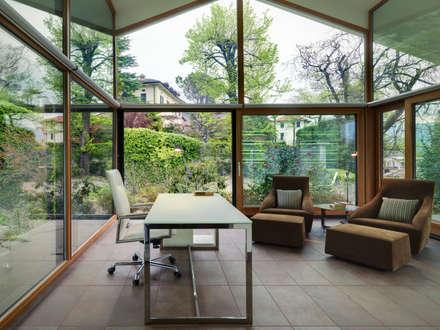 modern Study/office by Studio Marco Piva