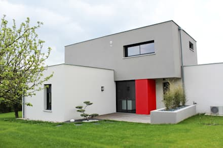 Maison individuelle - Région toulousaine: Maisons de style de style Moderne par Atelier d'architecture Pilon & Georges