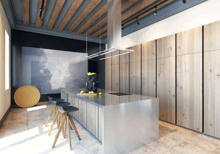 scandinavian Kitchen by Pfayfer Fradina Design