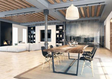 Eco House: Столовые комнаты в . Автор – Pfayfer Fradina Design