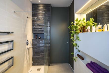 Bagno moderno idee ispirazioni homify - Nicchie in bagno ...