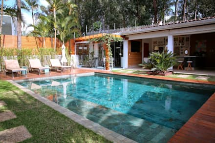 modern Pool by MeyerCortez arquitetura & design