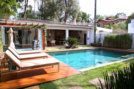 泳池 by MeyerCortez arquitetura & design
