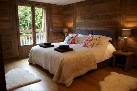 Chalet Chardon - chambre 1: Chambre de style de stile Rural par shep&kyles design