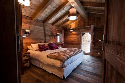 Chalet de Claude: chambre 3: Chambre de style de stile Rural par shep&kyles design