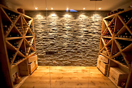 country Wine cellar by shep&kyles design