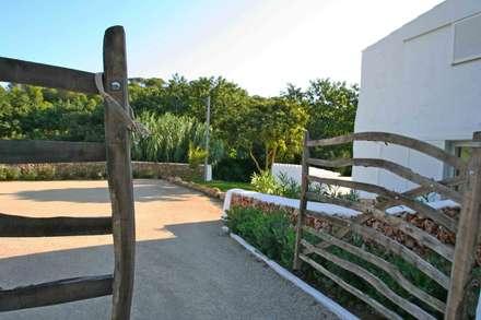 Puerta de acceso: Ventanas de estilo  de FG ARQUITECTES