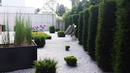 moderne gartengestaltung, ideen und bilder | homify, Garten dekoo