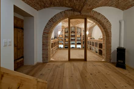 ห้องเก็บไวน์ by Jahn Gewölbebau GmbH