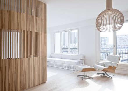 Appartement N°4: Salon de style de style Moderne par Julien Joly Architecture