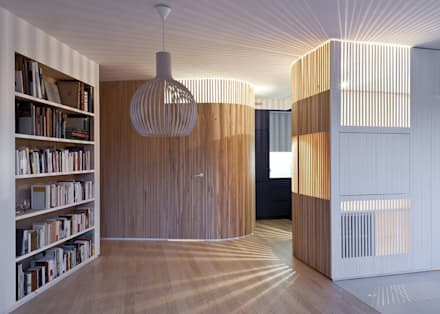 Appartement N°4: Salle à manger de style de style Scandinave par Julien Joly Architecture