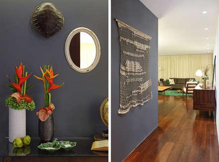 Casa Ideal 2012_Interiores: Corredores e halls de entrada  por Tiago Patricio Rodrigues, Arquitectura e Interiores