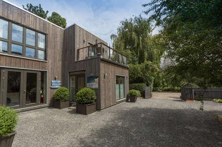 منزل خشبي تنفيذ cordes architektur