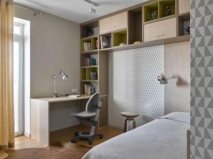 Дизайн квартиры в Москве / ул. 9 Мая: Детские комнаты в . Автор – TS Design