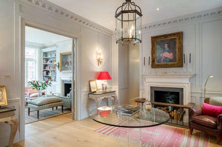 Cheyne Gardens:  Corridor & hallway by Will Eckersley