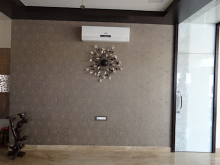 Residence of Mr. Vijayanand :  Walls by Hasta architects