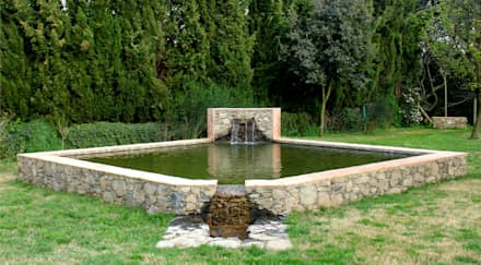 Estanques de jardín de estilo  por Jordi Alsina s.l