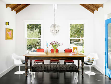 Palma Plaza Residence: modern Dining room by Hugh Jefferson Randolph Architects