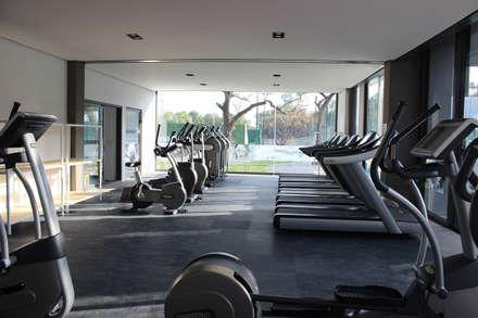 modern Gym by VG+VM Arquitectos