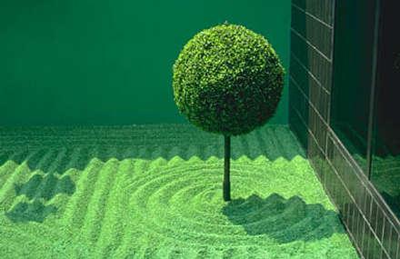 Jardines zen de estilo  por contacto36
