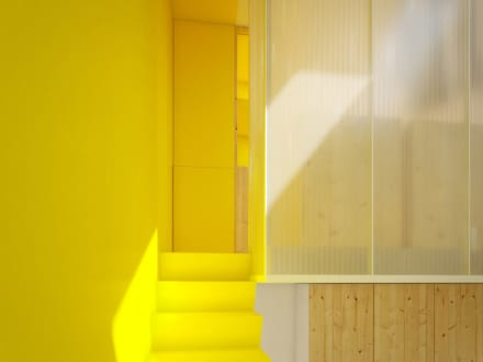 CASA M - 2013 TORINO: Spogliatoio in stile  di POINT. ARCHITECTS