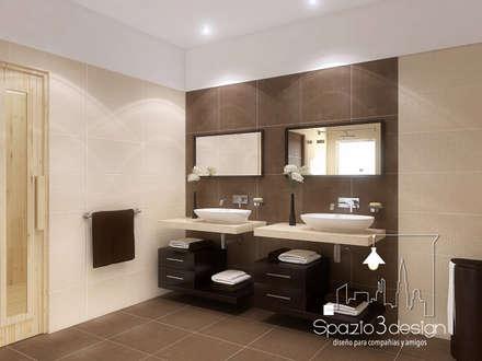 حمام تنفيذ Spazio3Design