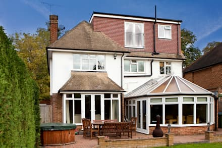 Wimbledon Loft Conversion :  Terrace by A1 Lofts and Extensions