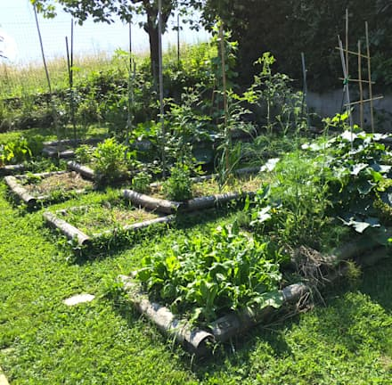 Orto: Giardino in stile In stile Country di suingiardino