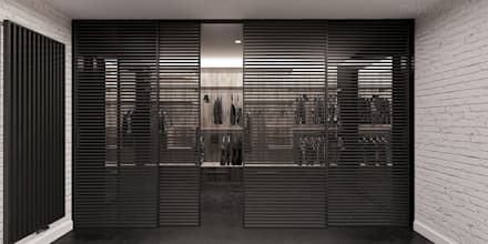 minimalistic Dressing room by Mess Architects
