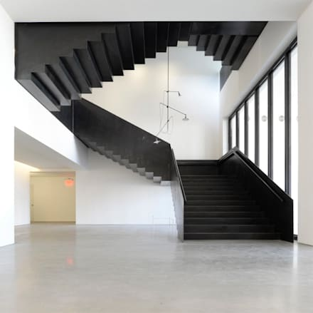50 Varick street, quartiere Tribeca, New York  Lo stile e il design di Interbau nel centro del mondo: New York.: Sedi per eventi in stile  di Interbau