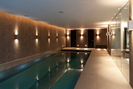 Circus Road, London: modern Pool by Polidori Barbera Design