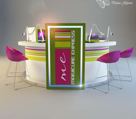Проект  Неил бара (маникюр экспрес): Торговые центры в . Автор – Your royal design