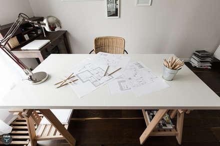 scandinavian Study/office by stabrawa.pl