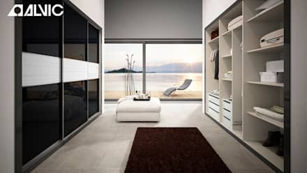 modern Dressing room by ALVIC