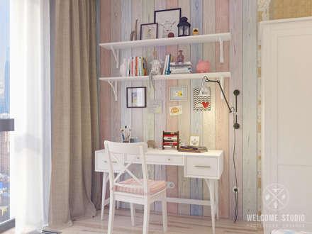 Детская ракурс 3: Детские комнаты в . Автор – Мастерская дизайна Welcome Studio