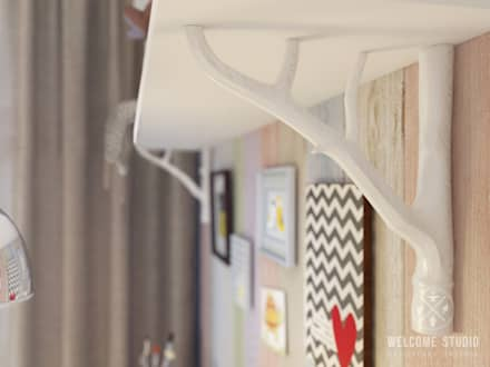 Детская ракурс 4: Детские комнаты в . Автор – Мастерская дизайна Welcome Studio