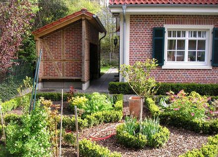Landhausstil gartengestaltung ideen und bilder homify for Gartengestaltung landhausstil