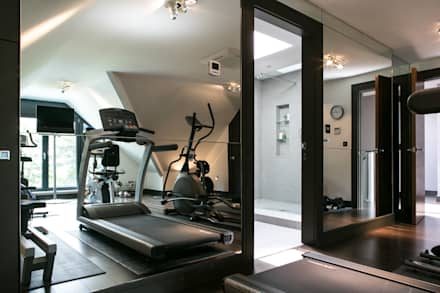 The Ultimate Sophistication : minimalistic Gym by Finite Solutions