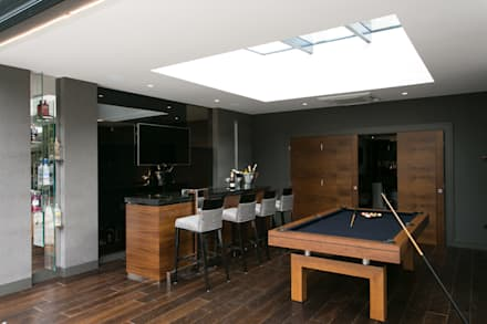 The Ultimate Sophistication : minimalistic Media room by Finite Solutions