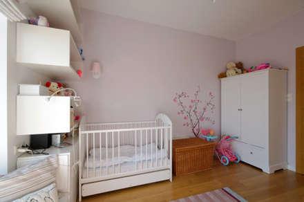 mediterranean Nursery/kid's room by ZAWICKA-ID Projektowanie wnętrz