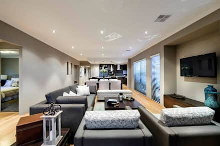 Living Rooms by Moda Interiors, Perth, Western Australia: classic Living room by Moda Interiors