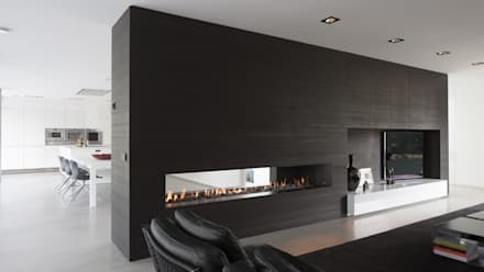 Eigentijdse bungalow: moderne Wijnkelder door Lab32 architecten