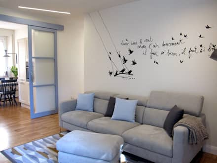 ห้องนั่งเล่น by studio radicediuno
