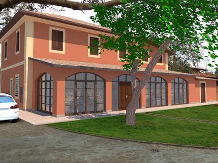 Giardino d 39 inverno in stile classico idee homify for Idee portico coloniale